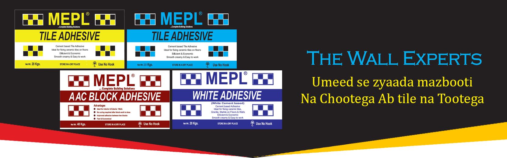 MEPL Construction Chemicals and Paints